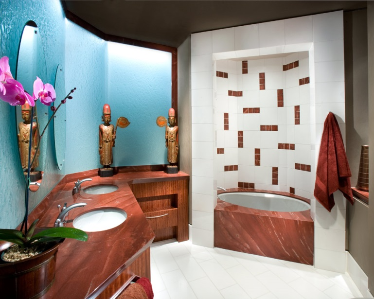 Stockett tile and granite create your own sanctuary with for Design your own bathroom tiles